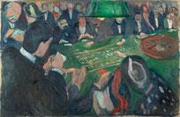 Am Roulettetisch in Monte Carlo