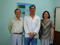 Hozumi Nakano is on the right