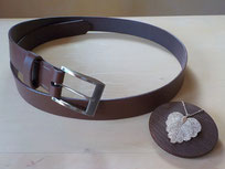 ceinture en cuir durable pour homme et femme