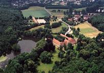 Gesamtensemble Jagdschloss Kranichstein, Schlossteich, Jagdzeughaus, Park & Schloss