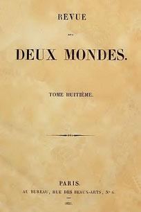 Jean-Jacques AMPÈRE (1800-1864) : De la Chine et des travaux de M. Abel-Rémusat  Revue des Deux Mondes, 15 novembre 1832, t. VIII, pp. 373-405 ; 1er et 15 novembre 1833, t. IV, pp. 249-275 et 361-395.