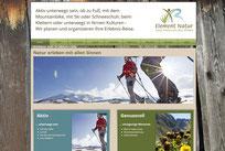 Webseite Element Natur