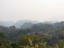 Phu Hin Boun mountain view, Khammouan province Laos