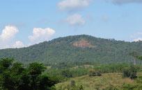 Mountain view near Nam Nao, Phetchabun province Thailand