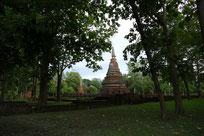 Ancient pagoda, Kampheng Phet province Thailand