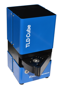 TLDcube is a manual TLD reader for dosimetry, checking irradiated food, radiotherapy, research