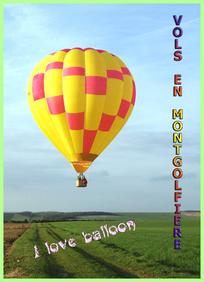 Survol en montgolfière de la campagne sénonaise - Bourgogne