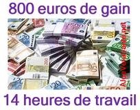 Qui aimerait gagner 57 euros de l'heure ?