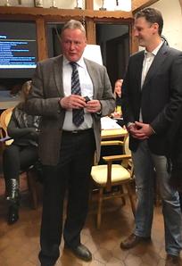 v.l. Helge Dinter und Bastian Cornelius