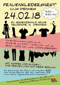 Flyer: Frauenkleidermarkt (vergrößerbar)