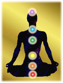 人体とチャクラ 宇宙エネルギー