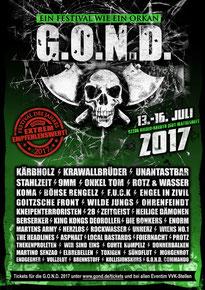 G.O.N.D. 2017