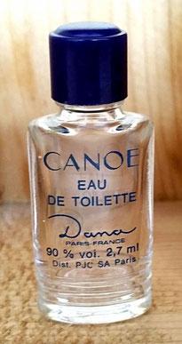 DANA - CANOE : EAU DE TOILETTE 2,7 ML 90 %