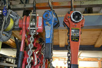 We repair all makes and models of hoists.