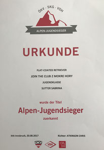 ÖKV-Alpen-Jugendsieger