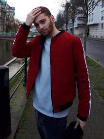 Bomber femme dos Frida - Elanka