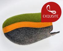 clogs16 grey-apple green-orange Felt**/**