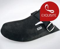 clogs11 schwarz / Fett-Nubuk