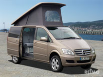 Mercedes vito campervan elavetd roofs