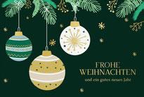 Weihnachtskarten made in Aachen