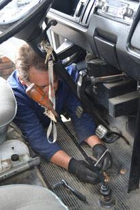En el mecánico, otra vez