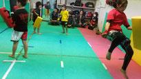 teamYAMATO大和高田本部では、二段蹴りも教えています。