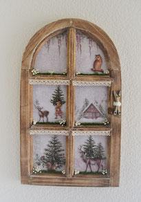 Deko-Fensterrahmen