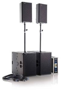 Musikanlage - PA - Tontechnik mieten Frankfurt