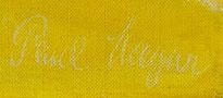Paul Magar Hafen Signatur