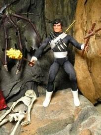 365 days BIG JIM - Day 4 : Vampire Hunter Jim HERO (Custom)