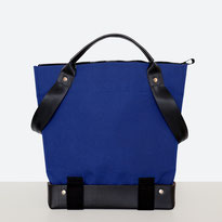 Trasporta bag - Adaptive Bag - Wheelchair bag - Bag for wheelchair user - Bag with zipper - Tote bag - Shoulder bag - Made in Ticino - Blue