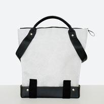 Trasporta bag - Adaptive Bag - Wheelchair bag - Bag for wheelchair user - Bag with zipper - Tote bag - Shoulder bag - Made in Ticino - Light grey