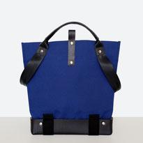 Universal Design Tasche - Rollstuhltasche - Tasche für Rollstuhl - Handtasche - Tragetasche - Im Tessin gefertigt - Blau
