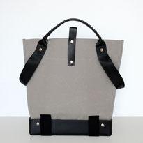Universal Design Tasche - Rollstuhltasche - Tasche für Rollstuhl - Handtasche - Tragetasche - Im Tessin gefertigt - Dunkel grau