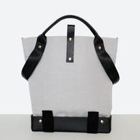 Universal Design Tasche - Rollstuhltasche - Tasche für Rollstuhl - Handtasche - Tragetasche - Im Tessin gefertigt - Hell grau