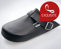 clogs17 black / Smooth leather**