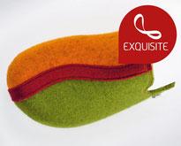clogs14  apple green-orange-red   Felt**/**