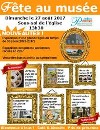 Fête au Musée Espaces mémoires St-Léon-de-Standon