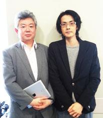 脳外科専門医師でシーターヒーリングサイエンス・マスター・統合医療をされている串田 剛先生と撮影
