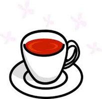 ジンジャースパイス入りの紅茶