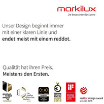 markilux design markisen made in Germany