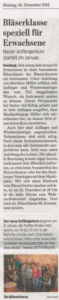 Harzkurier, 16.12.2013