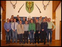 Vorstand Schützenverein Hesborn