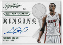 CHRIS BOSH / Ringing Endorsements - No. 6  (#d 4/5)