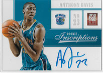 ANTHONY DAVIS / Inscriptions - No. 10