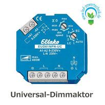 Universal-Dimmaktor Eltako für 230V LED Leuchtmittel und Trafos