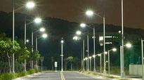 LED Straßen- und Parkplatzleuchten