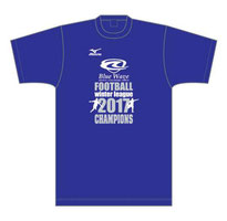 Blue Wave winter league 2017 優勝Tシャツ
