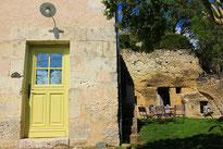 Jardin clos à la Ruelle des Jardins - gîte cosy en Touraine