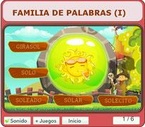 FAMILIA DE PALABRAS (I)